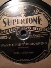 Willie Stoneman Supertone 9083 Old-time Country guitar and banjo   EE- 78 rpm