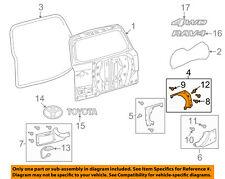 TOYOTA OEM 09-12 RAV4 Back Door-Trim Cover Right 768030R010E1