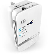 BT Dual-Band WiFi Extender Booster 610 Internet Network Broadband Plug EthernetW