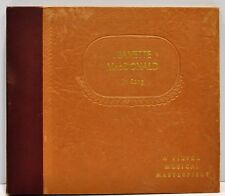 """JEANETTE MacDONALD """"In Song"""" RARE 78rpm  3 Disc Set RCA Victor 2047,2050,2055"""