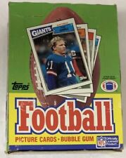 1987 Topps Football Hobby Box GEM 36 Pack FASC