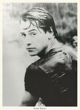 POSTER : MOVIE ACTOR :  KEANU REEVES -  SOAKING WET - FREE SHIP  #FPO161  RC25 C
