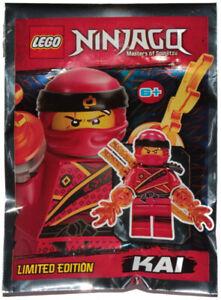 NEW LEGO NINJAGO KAI MINIFIG FOIL PACK minifigure figure Sons Of Garmadon 891842