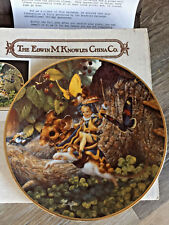 Keepsake Rhymes Tom Thumb Collectors Plate Bradford Exchange - Edwin M Knowles