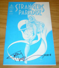Strangers in Paradise vol. 2 #11 FN signed by terry moore - one of a kind! RARE