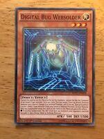 Digital Bug Centibit Common Yugioh Card SHVI-EN034