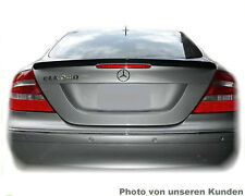 Mercedes CLK W209 AMG Type tail spoiler trunk lid lip rear bumper apron body kit