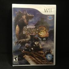 Monster Hunter Tri (Nintendo Wii) BRAND NEW / Region Free