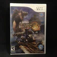 Monster Hunter Tri (Nintendo Wii) BRAND NEW / Region Free