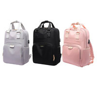 Water Resistant Business Travel Laptop Backpack with USB Charging Port