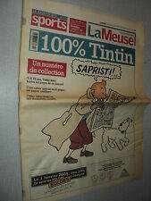 LA MEUSE 2004/008 (10/1/2004) TINTIN HERGE+