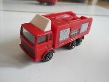 Majorette Saviem Fire Truck in Red