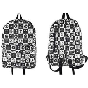 Anime The Nightmare Before Christmas Kids Backpack School Bag Satchel Travel Bag
