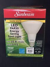 Sunbeam LED PAR30 Energy Saving 75W OUTDOOR/INDOOR Dimmable Spot Light