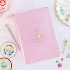 Anime Sailor Moon Paper Notebook Notepad Tsukino Usagi Pink Hand Account Cosplay