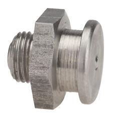 M10 x 1,0 [1 Stück] V4A DIN 3404 Ø16mm Flachschmiernippel NIRO