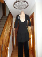 Stunning Black Dress from Zara, Size M, New with tags