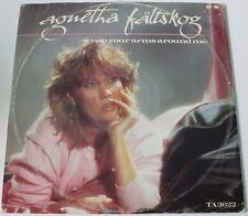 AGNETHA FALTSKOG - Wrap Your Arms Around Me [Vinyl,12 Inch, 1983] UK TA 3622 EXC