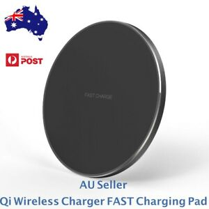 Qi Wireless Charger FAST Charging Pad Receiver For 11 XS XR 8 Samsung S10 S20 5G