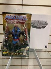 Masters of the Universe Classics He-man STRATOS MOTUC Box Matty Mattel New MOC