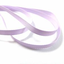 """Grosgrain Ribbon 6mm (1/4"""" inch) - 35 Plain Coloured Double Sided/Faced Thin"""
