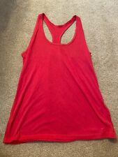 Women's Nike Activewear Tank Top Dri-Fit Pink Medium