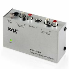 Preamp Pyle Phono Turntable Electronic Audio Stereo Phonograph Pro Mini NEW