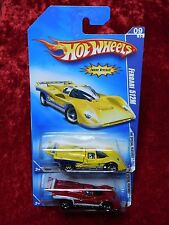 2009 Hot Wheels Special Features Ferrari 512M Yellow & Red 2 Variants 1 Listing