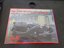 ICM TYP 770K (W150) TOURENWAGEN, WWII GERMAN LEADER'S CAR 1/35 35533 NEW Sealed