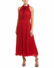 Jill Jill Stuart Women's Maxi Red Dress 0 MSRP $399.00