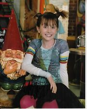 ALLISYN ASHLEY ARM hand-signed SONNY WITH A CHANCE 8x10 uacc rd coa 2009 CLOSEUP