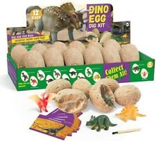 GoldTech Products Dino Egg Dig Kit, STEM Educarional Learning Toys for Kids