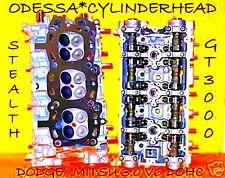 DODGE STEALTH MITSU GT3000 3.0 DOHC V6 CYLINDER HEADS  ENGINE 6G72