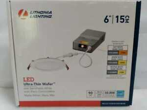 Lithonia Lighting Wafer Selectable Color Temperature 6'' LED Retrofit Downlight
