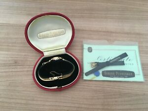 Vintage Girard Perregaux Ladies Wrist Watch Gold - 1960's Complete with Box