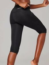 8a1e3ee1d580d7 Topshop Ivy Park Leggings Size XS 6 8 Black Logo Capri Crop Gym Dance Work  Out