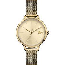 Lacoste 2001128 Damen Cannes Gold Ton Armbanduhr
