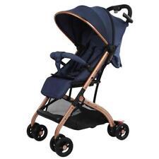 Br New Smart Travel Pram Compact Lightweight Stroller Newborn Blue