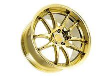 18x9.5 Aodhan Ds02 5x114.3 +30 Gold Vacuum Rims Aggressive Fits Tc Rx8 Speed 3