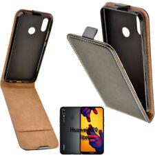 Flexi Slim Flip Handy Tasche für Huawei P20 Lite Klapp Hülle Schutz Case Etui