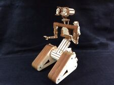 Laser Cut Wooden Johnny 5 Robot. Short Circuit Film. Model/Puzzle Kit