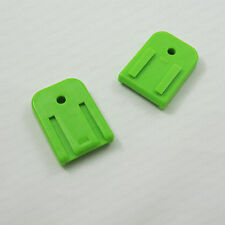 New Glock Magazine Dual Endplate Colorful Green Base Plate Cover 2 Pieces Set