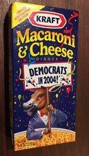 Kraft Democratic Macaroni & Cheese from 2004 Democratic Convention in Boston