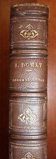 Legum Delectus digestorum & codicis, D. Joannis Domat, 1703 (RARE)