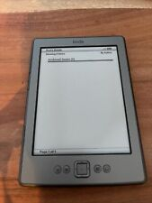 Amazon Kindle 4th Generation (D01100), Wi-Fi, 6 inch Ebook Reader.