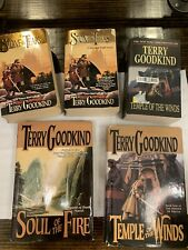 The Sword Of Truth Book Lot Terry Goodkind Hardback Paperback