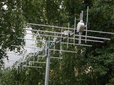 """24 EL Cross Yagi 2m e 70cm (144-146 e 430-440 MHz) Presa - """"UC1"""""""