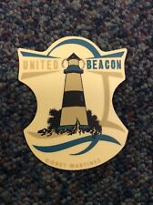 1 x Authentic United Beacon Bmx Sticker/Decal