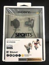 SONY WI-SP600N Wireless Noise Cancelling In-Ear Headphones (Black)