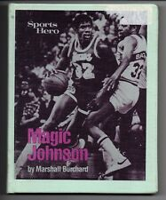 Magic Johnson 1981 Hardcover Book Marshall Burchard Lakers Michigan St Spartans